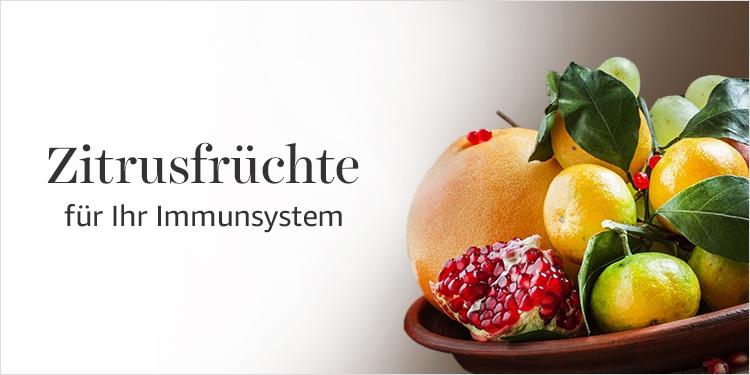Zitrusfrüchte für Ihr Immunsystem