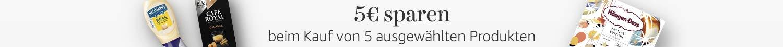5€ sparen beim Kauf von 5 ausgewählten Produkten