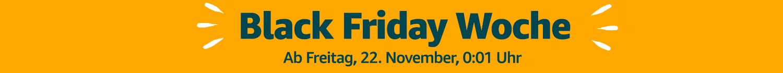 Countdown zur Black Friday Woche