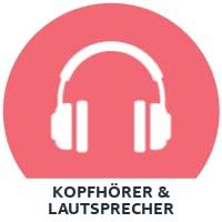 Kophörer & Lautsprecher