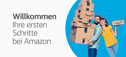 Willkommen. Ihre ersten Schritte bei Amazon