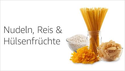 Nudeln, Reis & Hülsenfrüchte
