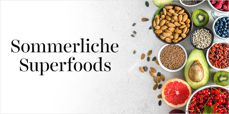 Sommerliche Superfoods