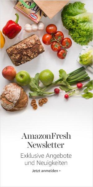 AmazonFresh Newsletter anmelden