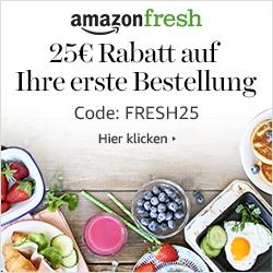 Meld Dich bei Amazon Fresh an und erhalte einen Rabatt!