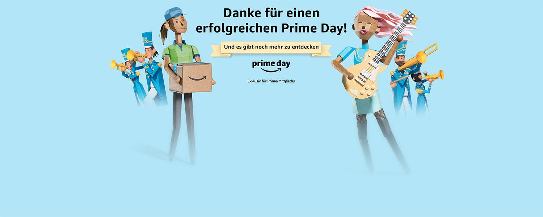 Prime Day: Vielen Dank für einen erfolgreichen Prime Day.