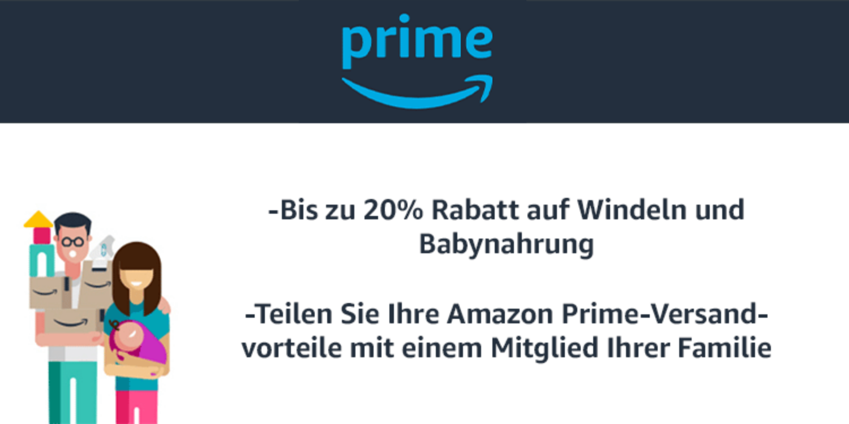 Amazon prime teilen familie