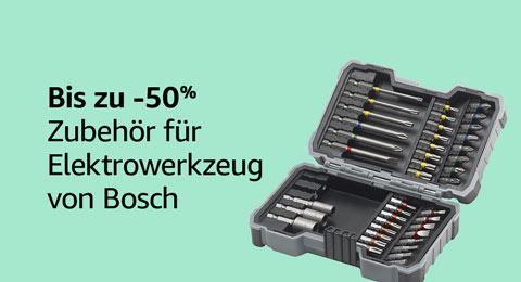 Bis zu 50% reduziert: Bosch Zubehör für Elektrowerkzeug