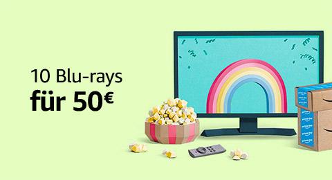 10 Blurays für 50 Euro