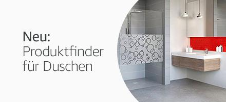 Produktfinder Duschen