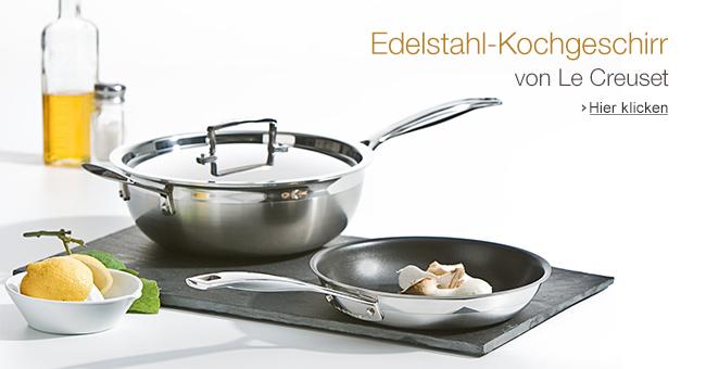 Edelstahl-Kochgeschirr von Le Creuset