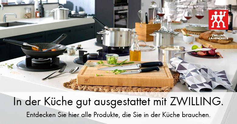 Entdecken Sie hier alle Produkte, die Sie in der Küche brauchen.