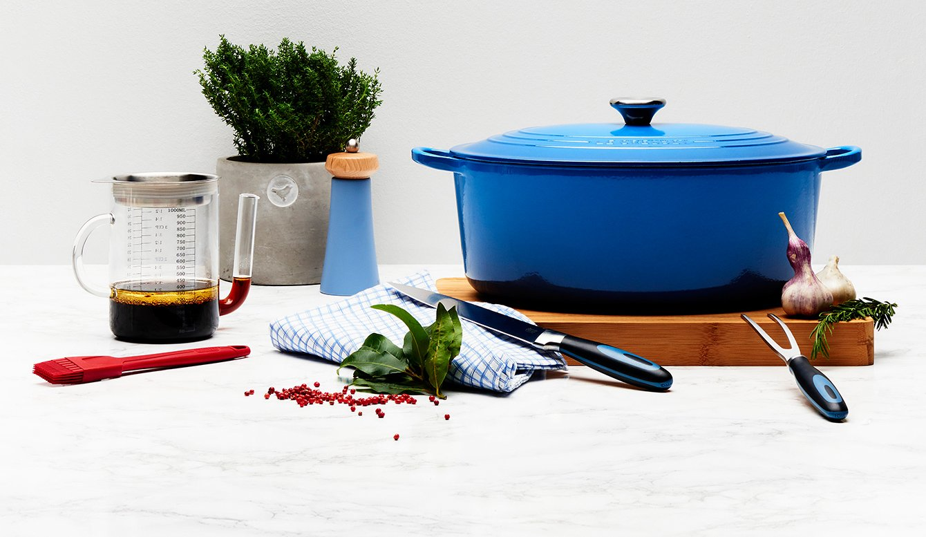 Küchenhelfer für den Festbraten