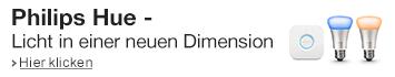 Erleben Sie Licht in einer neuen Dimension - mit Philips Hue