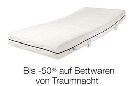 Nur diese Woche: Bis -50% - auf Matratzen & Bettwaren von Traumnacht