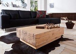 Wie Es Eben Nur Holz Besitzt Als Zentraler Punkt Von Wohnrumen Die Geselliger Treffpunkt Dienen Eignet Sich Dieser Massivholz Wohnzimmertisch