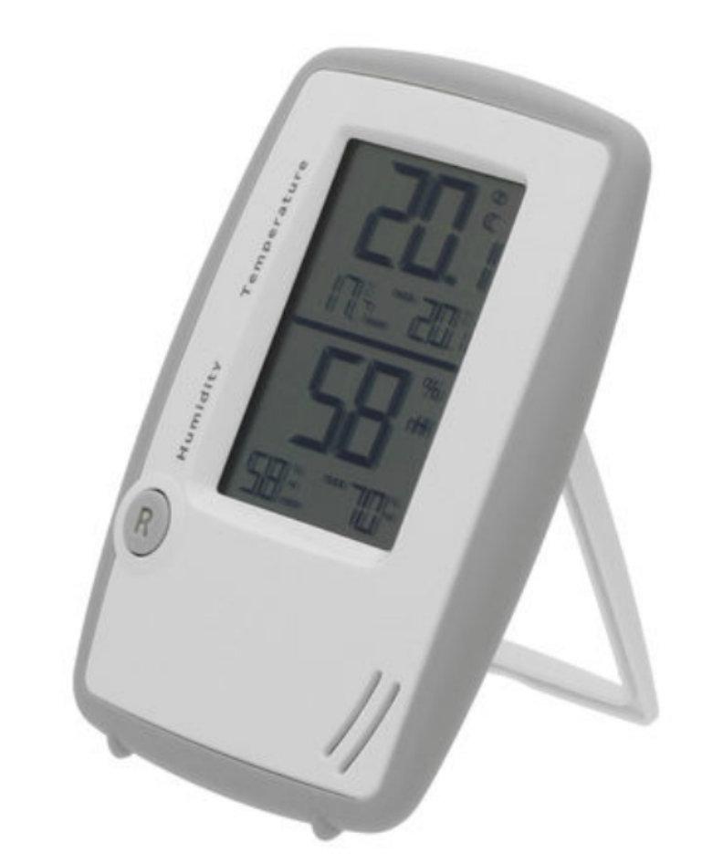 tfa dostmann digitales thermo hygrometer innentemperatur luftfeuchtigkeit gesundes raumklima. Black Bedroom Furniture Sets. Home Design Ideas