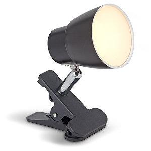 amara led 1x 2 5w klemmspot g10101 06 schwarz chrom beleuchtung. Black Bedroom Furniture Sets. Home Design Ideas