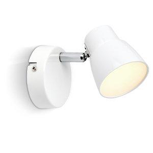 amara led 1x 2 5w wandspot g10110 05 wei chrom beleuchtung. Black Bedroom Furniture Sets. Home Design Ideas