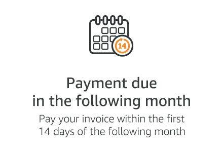 Amazon.de: Pay by Invoice