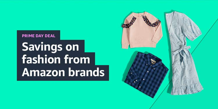 Savings on fashion from Amazon brands