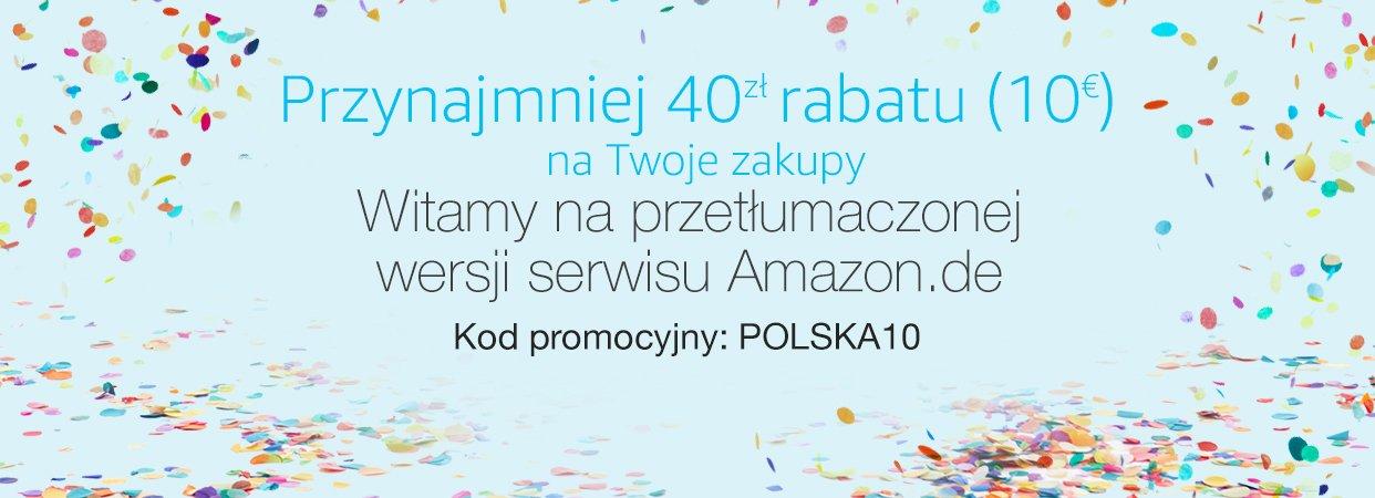 Rabat 10€ na amazon.de