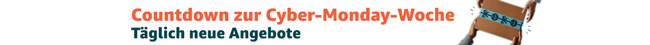 Countdown zur Cyber-Monday-Woche