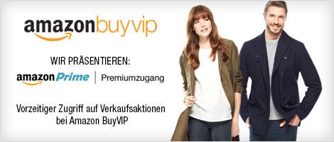 Amazon BuyVIP: Premiumzugang für Amazon Prime-Mitglieder