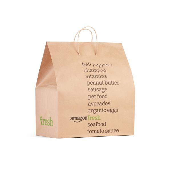 Amazon Fresh-Papiertüte