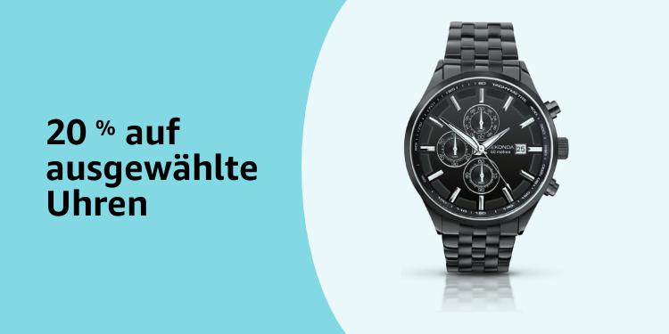 20% Rabatt auf ausgewählte Uhren