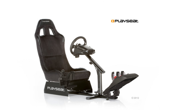 playseat evolution m alcantara playstation 2. Black Bedroom Furniture Sets. Home Design Ideas