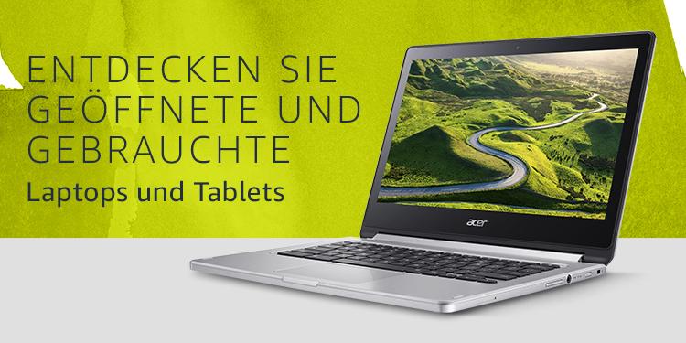 Laptops und Tablets