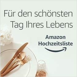 Hochzeitslisten bei Amazon