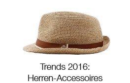 Trends 2016: Herren-Accessoires