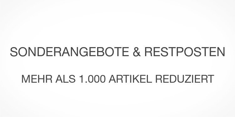 Restposten & Sonderangebot