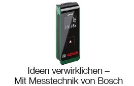 Ideen verwirklichen - Mit Messtechnik von Bosch