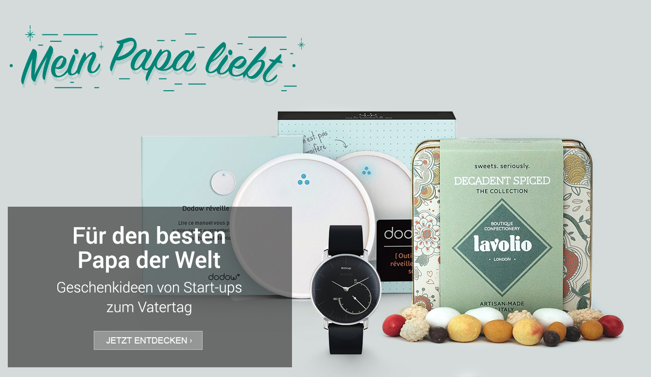 Amazon Launchpad: Start-up-Produkte zum Vatertag