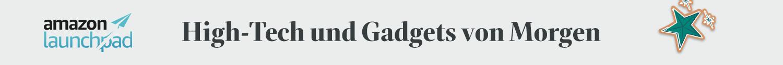Entdecken Sie Geschenkideen rund um High-Tech und Gadgets von Amazon Launchpad Start-ups