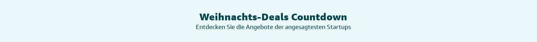 Weihnachts-Deals Countdown
