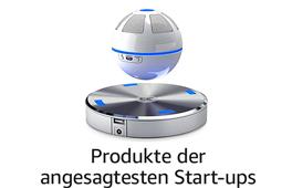 Entdecken Sie einzigartige und innovative Produkte von Start-ups