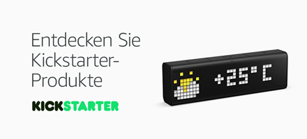 Amazon Launchpad: Kickstarter Kollektion