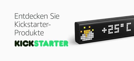 Amazon Launchpad: Entdecken Sie Kickstarter-Produkte