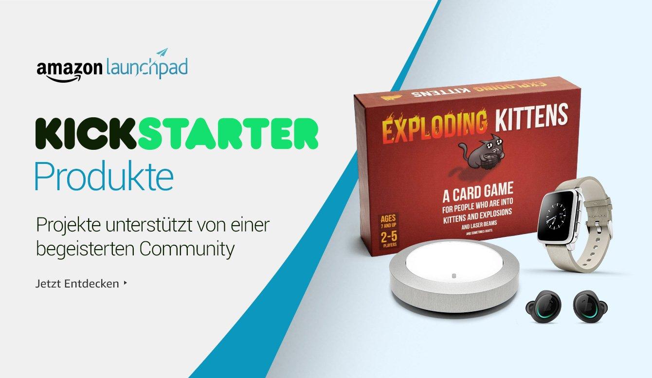 Amazon Launchpad: Kickstarter Produkte