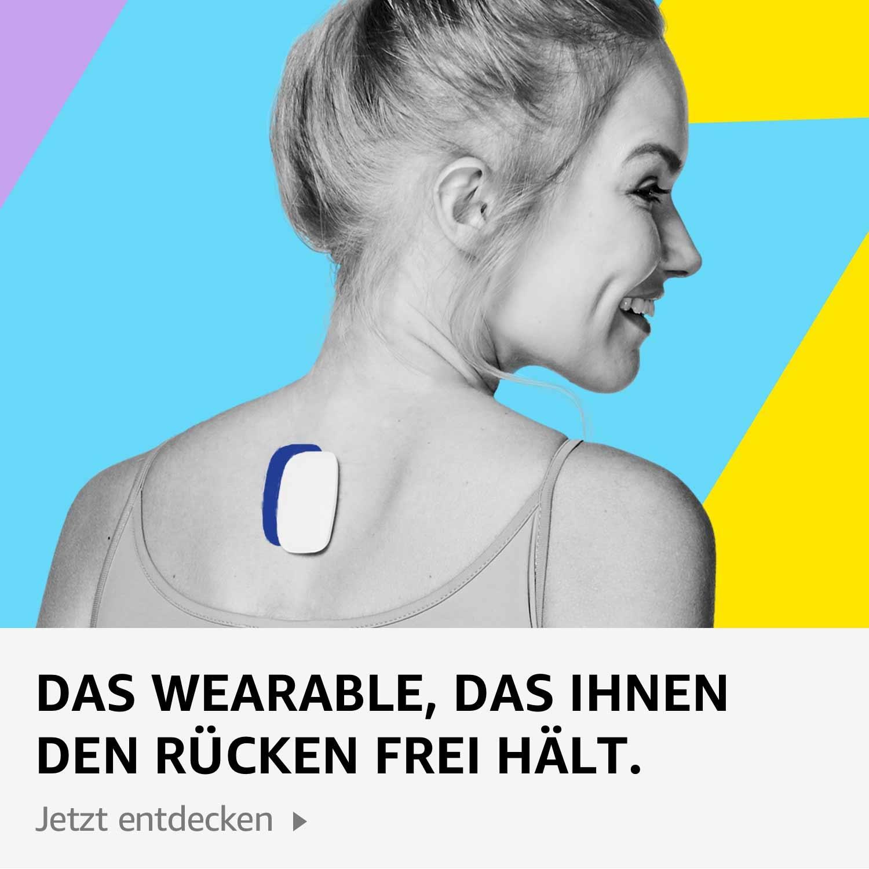 Das Wearable, das Ihnen den Rücken frei hält.