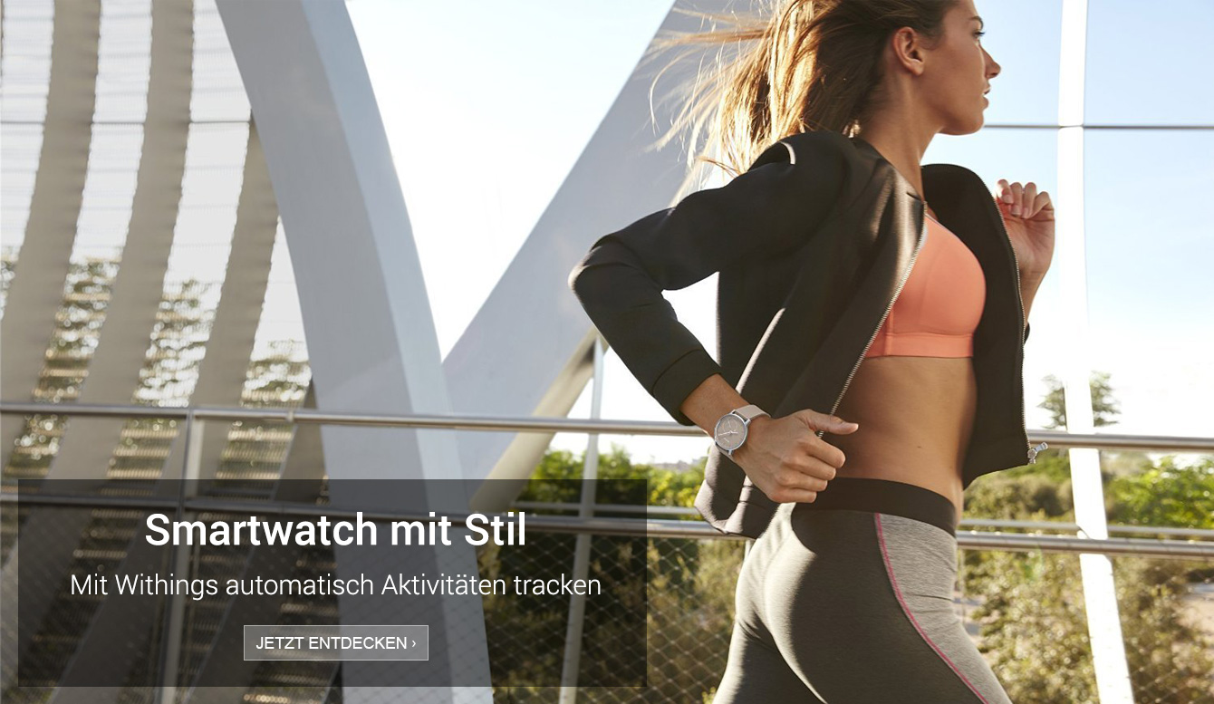 Amazon Launchpad: Withings Smartwatches für Sie und Ihn