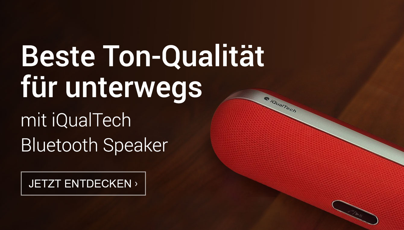 Amazon Launchpad Start-up-Produkte: Bluetooth speaker von iQualTech