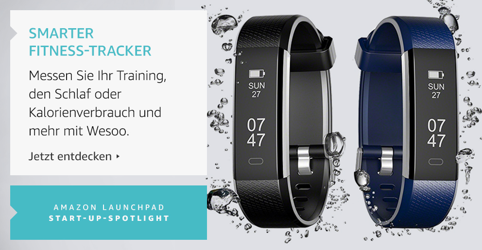 Amazon Launchpad Start-up:Smarter Fitness-Tracker