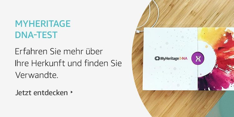 Amazon Launchpad Start-up-Produkte: MyHeritage DNA-Test
