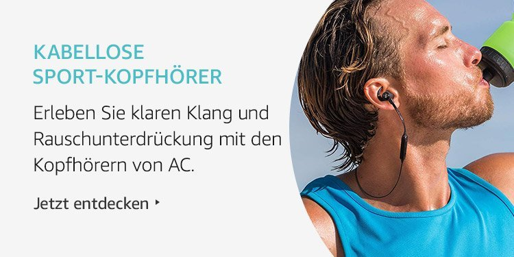Amazon Launchpad Start-up-Produkte: Kabellose Sport-Kopfhörer
