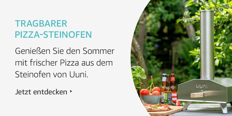 Amazon Launchpad Start-up-Produkte: Tragbarer Pizza-Steinofen